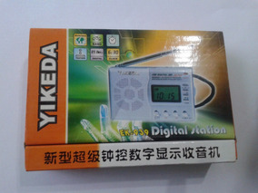Yikeda Radio Digital Station Ek-939 Fm/mw/sw