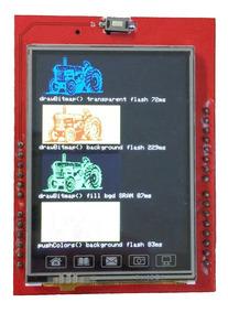 Shield Display Lcd Tft 2,4 Polegadas Touchscreen Arduino