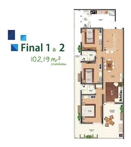 Imagem 1 de 11 de Apartamento - Venda - Caiçara - Praia Grande - Myz30