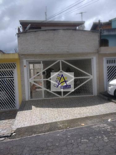 Imagem 1 de 30 de Sobrado Com 3 Dormitórios À Venda, 330 M² Por R$ 590.000,00 - Vila Emílio - Mauá/sp - So0172
