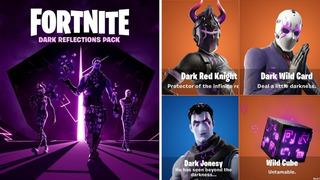 Fortnite - Pack De Reflejos Oscuros - Para Toda Cuenta