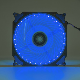 Cooler Fan Pc Gamer 120mm Led Azul Ventoinha Dx-12h