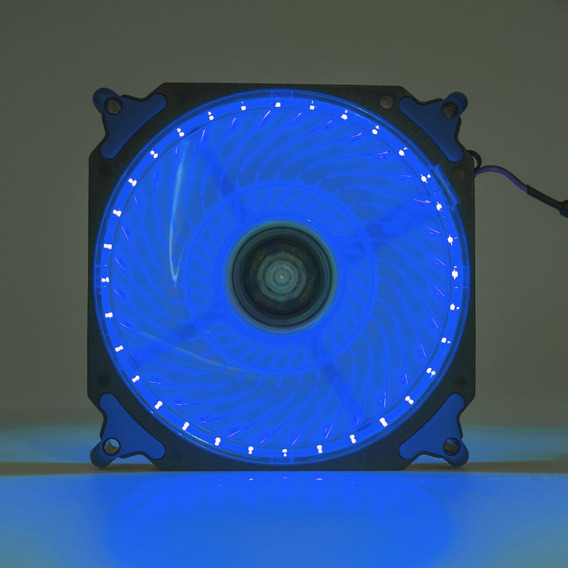 Cooler Fan Pc Gamer 120mm Led Azul Ventoinha Dx-12h