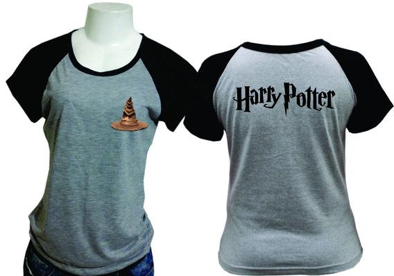 Camiseta/baby Look Raglan Harry Potter 050