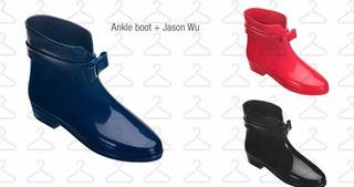 Melissa Ankle Boot + Jason Wu - Vermelha Galápagos 38/39