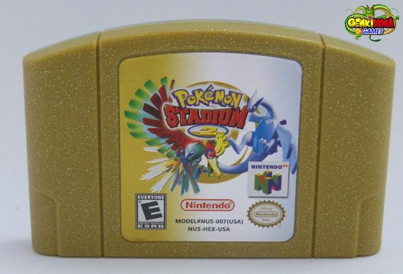 Pokemon Stadium 2 Nintendo 64 Novo N64