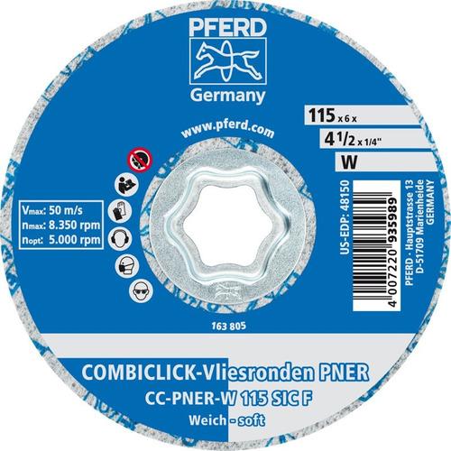 Disco De Pulido Pferd Combiclick Cc-pner 4 1/2