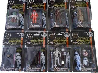 9 Bonecos Star Wars Figura Guerra Nas Estrelas