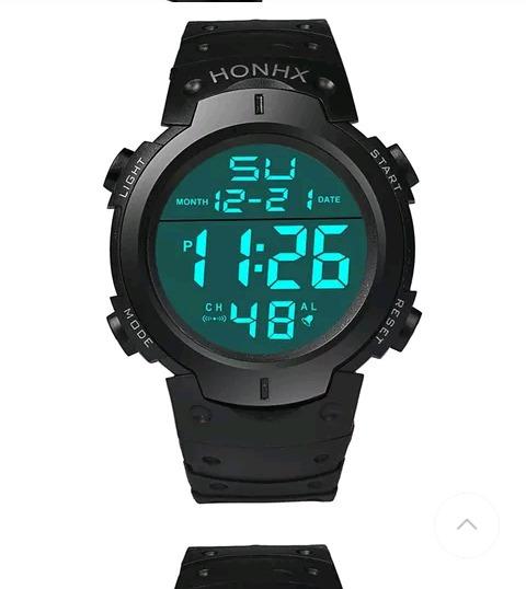 Promoção 2 Relógio Digital Masculino Honhx + Brinde