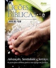 Kit Ebd Lições Biblicas 10 Aluno 01 Mestre Cpad 3ºtrim. 2018