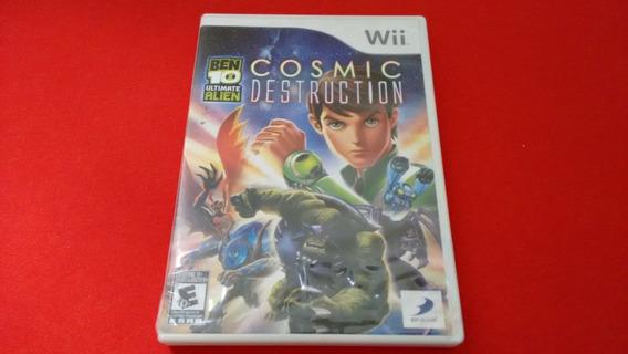 Ben 10 Ultimate Alien Cosmic Destruction Nitendo Wii Origina