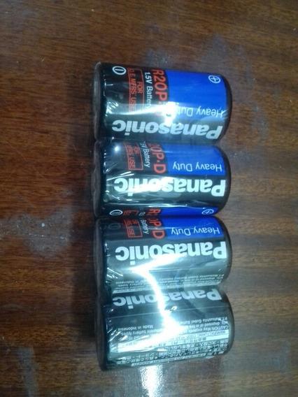 Pilhas Grandes Panasonic 1,5 Volts