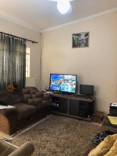 Imagem 1 de 6 de Casa Com 2 Dormitórios À Venda, 83 M² Por R$ 210.000 - Parque Universitário - Rio Claro/sp - Ca0378
