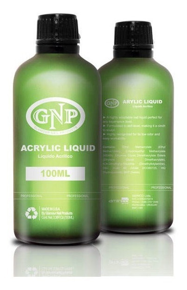 Liquido Acrilico Gnp Profesional 100ml