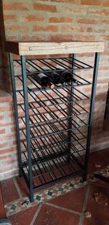 Bodega/vinoteca 45 Vinos hierro Y Madera Paraiso