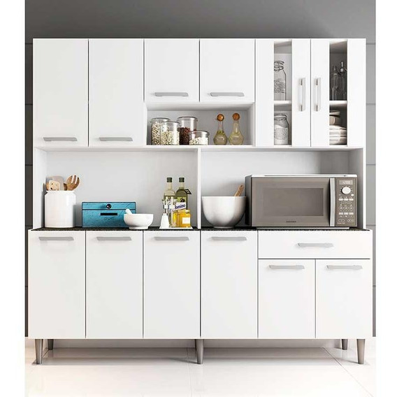 Cozinha Compacta C/ Tampo Clara - Poliman