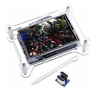 Kuman Pantalla Táctil Tft + Caso, Monitor De 3,5 Pulgadas
