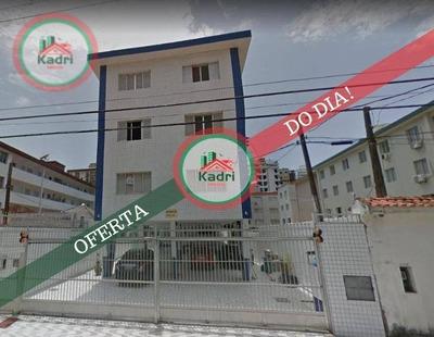 Apartamento Com 2 Dormitórios À Venda, 66 M² Por R$ 205.000 - Canto Do Forte - Praia Grande/sp - Ap4046