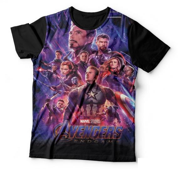 Camisa Camiseta Os Vingadores Avengers Ultimato Endgame