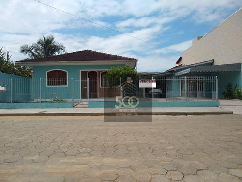 Casa Com 3 Dormitórios À Venda, 247 M² Por R$ 630.000,00 - Rio Caveiras - Biguaçu/sc - Ca0615