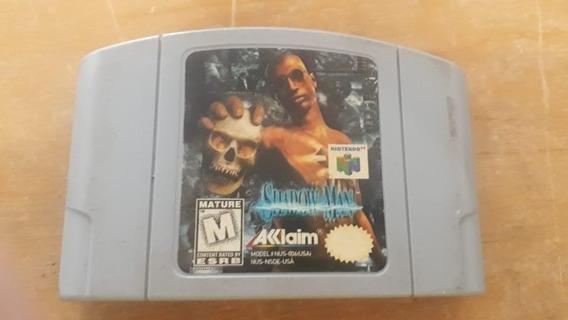 Shadow Man- Nintendo 64 Original Com Caixa