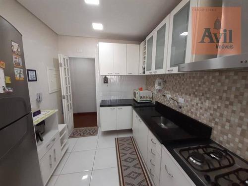 Cobertura Com 3 Dormitórios À Venda, 115 M² Por R$ 910.000,00 - Tatuapé - São Paulo/sp - Co0093