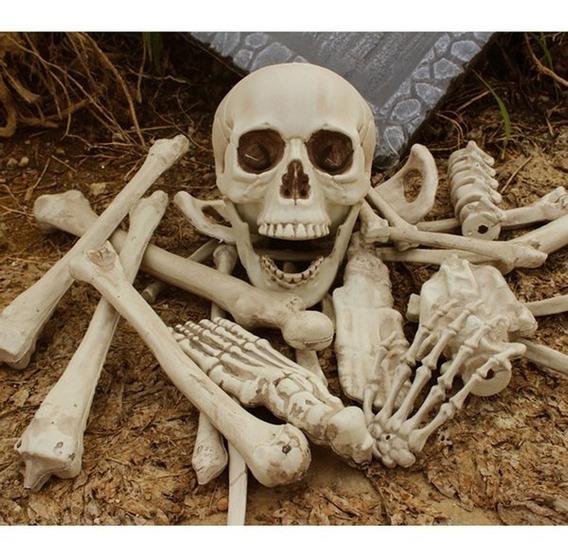 Bolsa De Huesos X 12 Unid. Halloween Chirimbolos