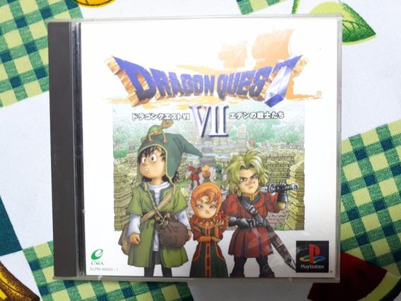 Dragon Quest Vii 7 Original Completo Playstation Ps1 D10