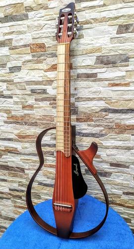Guitarra Puntera O Requinto Electroacústica Tipo Silent.