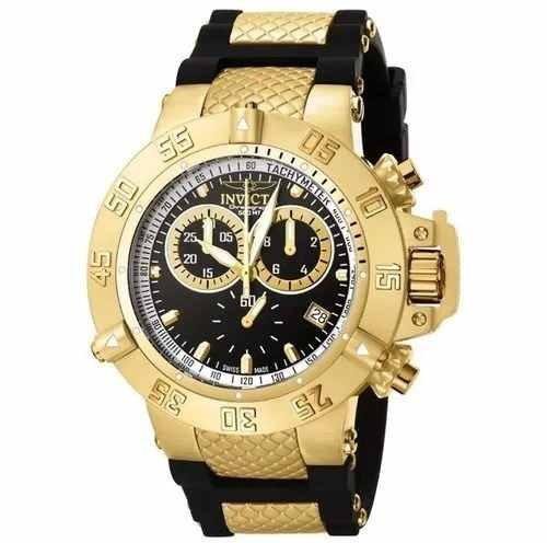 Relógio Pa6654 Invicta Subaqua Noma3 Dourado 5514 Promociona