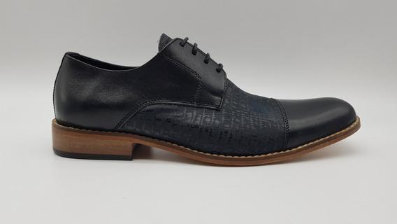 Zapato Hombre Vestir Cuero Careva 8186