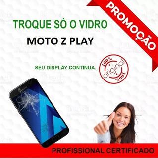 Moto Z Play Trocar Vidro Quebrado Conserto Celular Xt1635