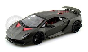 Miniatura Lamborghini Sesto Elemento Concept Grafite 1:24