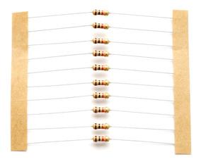 Resistor Carbono 1k 1/8w 5% - 200 Unidades