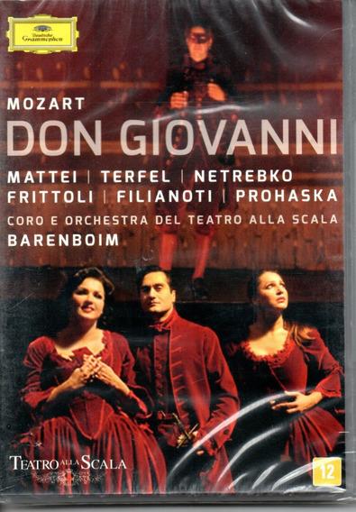 Dvd Duplo Mozart: Don Giovanni - Teatro Alla Scala Barenboin