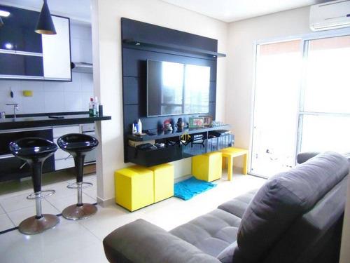 Apartamento 2 Dormitórios (1 Suíte) - 1 Vaga - Varanda Gourmet - Lazer No Condomínio - Documentação Ok - Ap2273