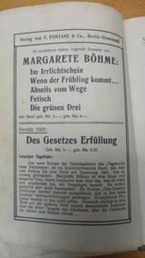 Livro Margarete Böhme: Tagebuch Einer Verlorenen