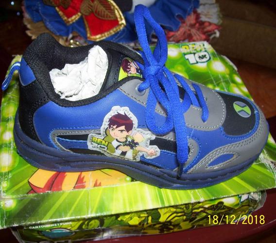 Zapatos De Niño Ben 10 Talla-32