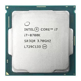 Procesador Intel Core i7-8700K 6 núcleos 128 GB