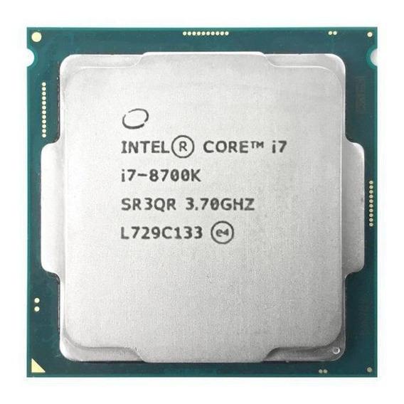 Processador Intel Core i7-8700K 6 núcleos 128 GB