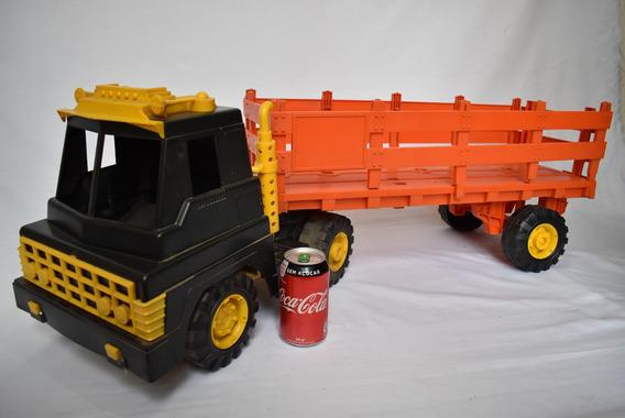 Caminhão Atma Gigante Big Boy - 110 Cm - Com Caçamba
