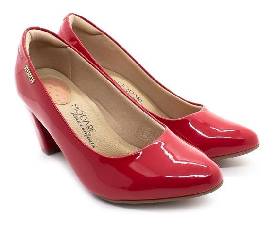 Sapato Modare 7305.100 Vermelho Verniz