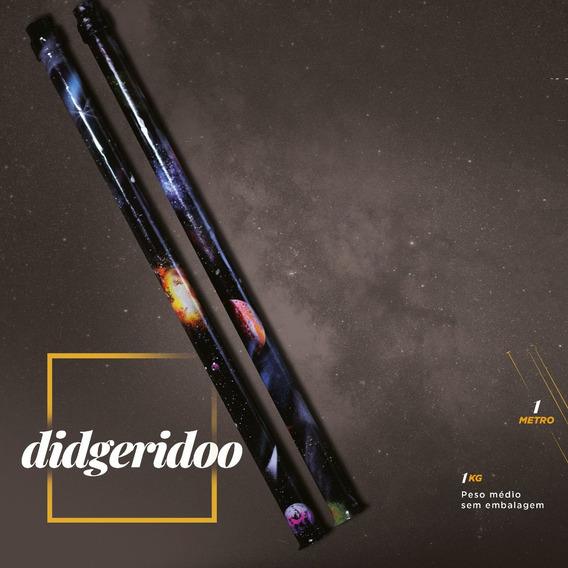 Didgeridoo - Moldado Em Pvc Robusto Didjeridoo Frete Gratis