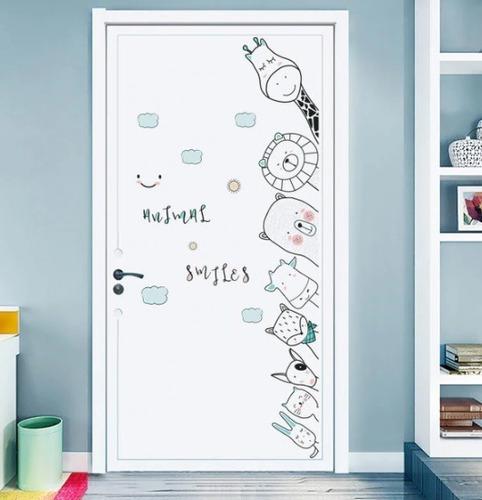 Sticker Adhesivos Infantiles Murales Puerta Habitación Bebe