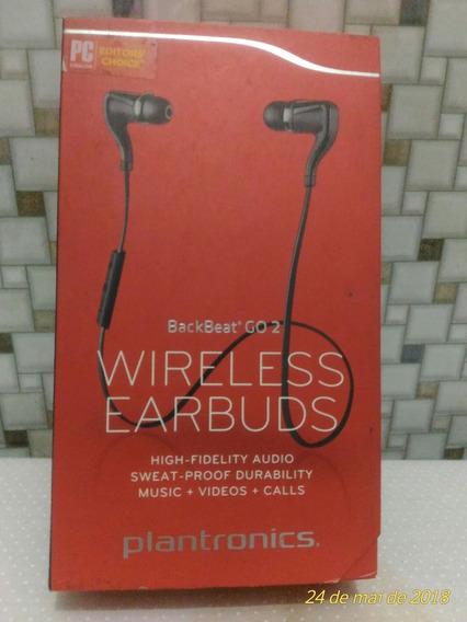 Wireless Earbuds Backbeat Go 2 Plantronics
