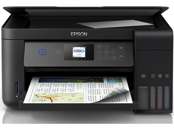 Impressora Multifuncional Epson Ecotank L4160 Wi-fi Duplex