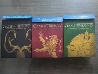 Game Of Thrones Blu-ray+dvd Season 2 3 4 Best Buy Sigil