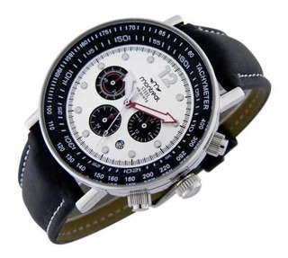 Reloj Montreal Hombre Cronógrafo Acero Ml301 Calendario