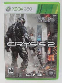 Crysis 2 - Game Xbox 360 Original Completo Mídia Física