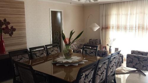 Apartamento Residencial À Venda, Vila Gomes Cardim, São Paulo. - Ta3252